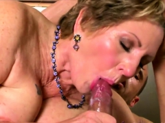 Stud fucks a granny coupled with..