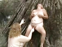 Old lesbian whores having fun..
