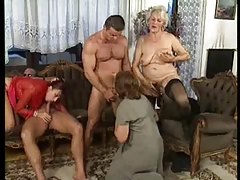 Sexy old whores taking part in hardcore humiliating orgy fucking – find exclusive group porn!