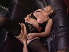 Exciting German granny porn – cute old sluts serving big cocks in traditional German manner!