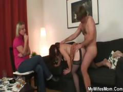 Mom Fucked Wide of Her Daughter..