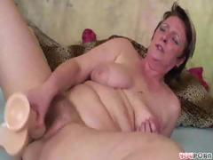 Mature Lady Plays With Will not..