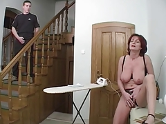 Redhead Granny-Beauty Anal On..