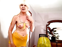 Horny erotic old bitches enjoy delicious sex with hot studs streaming the show online!