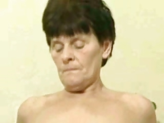 Russian granny fucking hard by..