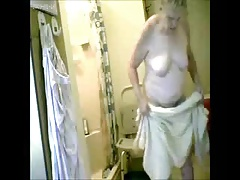 Watch my granny fully naked in..