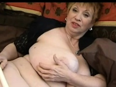 Large mature doll with fat tits..