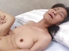 Amateurish Japanese granny banged..