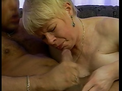 GERMAN GRANNY FUCKED IN DOGGY..