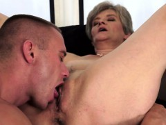 Licking a Thorough Horny Granny..