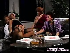 Grandmas Having Group Sex With A..
