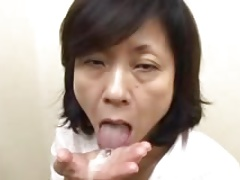 Japanese Mom Sucks Swallows &..