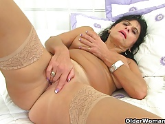 British milf Diabolical fucks her..