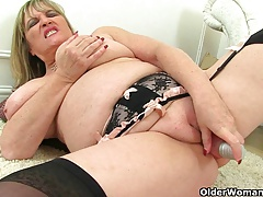 British milfs Alisha Rydes with..