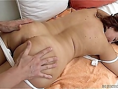 Granny got fucked after massage -..