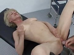 Granny Rita receives anal Space..