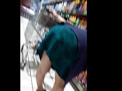 Granny does her shopping devoid..