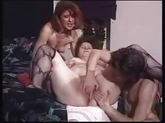 Horny couple masturbates slut..