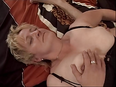 Blonde Granny Fisted added to..