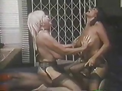 Retro Big Tit Bon-bons Threesome..