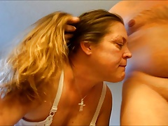 Granny Old Mature Cougar Facial..