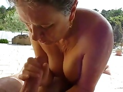 Granny Handjob #8 Completed with..