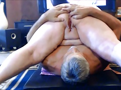 Mature hang on amateur homemade