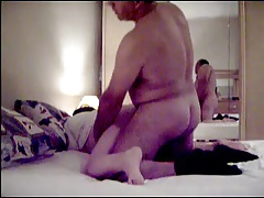 Mature couple rough sex