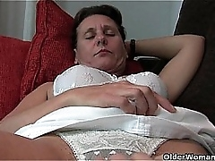 Hairy granny roughly hard nipples